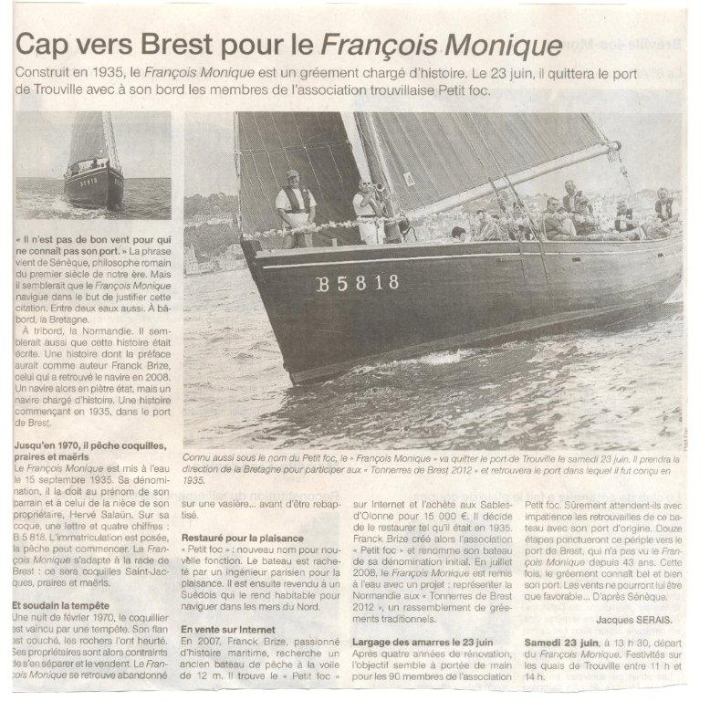 ouest france 07 06 2012