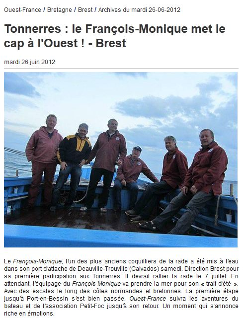 ouest france 26 06 2012
