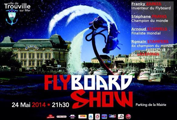 Fly board show