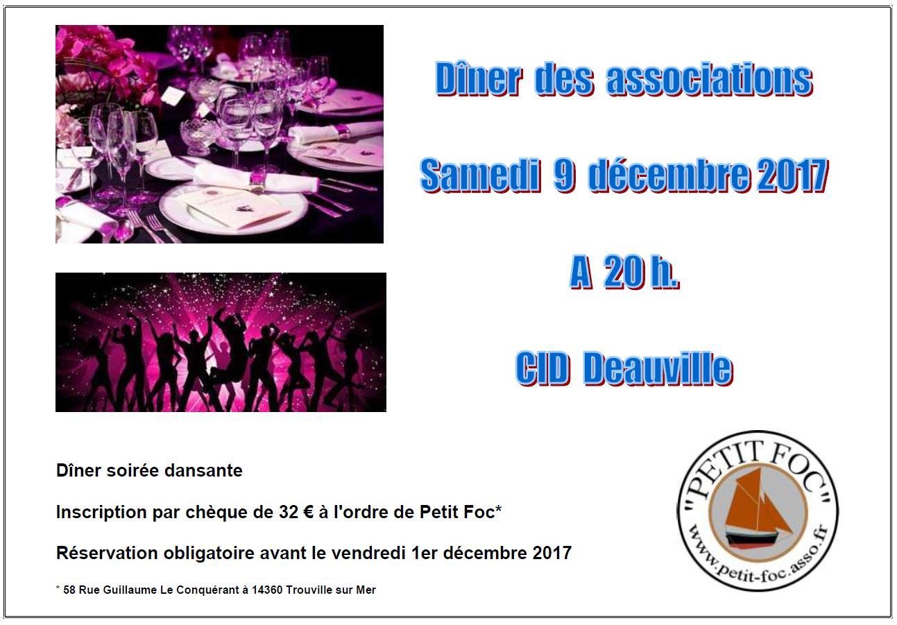 Dîner des associations 2017