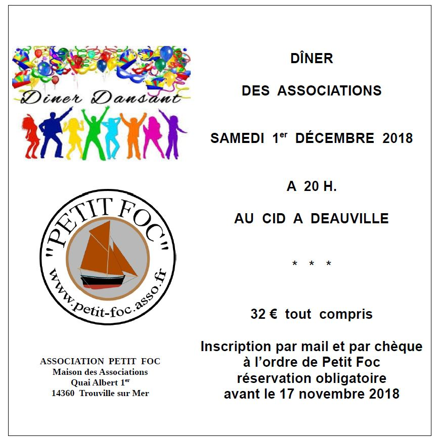Dîner des associations 2018